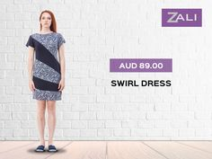 Standout among the rest with large #prints and #pattern! Wear #eco-friendly fibre #rayon fabric #printable swirl patterns #swirl dress summer #dresses to wear to a summer #summer wear for more collection visit - zalifashion.com