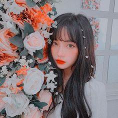 Pretty Korean Girls, Korean Beauty Girls, Cute Korean Girl, Pretty Asian, Asian Girl, Cute Profile Pictures, Cute Photos, Girl Photos, Aesthetic People