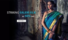A major textile center of #TamilNadu, #Salem with more than 125 spinning mills and weaving units is a booming industry.