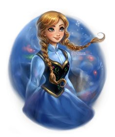 Frozen: Anna by `daekazu on deviantART