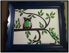 """This is a fabulous sign-in for a baby shower.  All the guests sign a leaf.  Love it! One of the best received """"crafts"""" ever."""