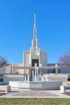 Denver Colorado Temple - LDS Temple Photography.I want to go see this place one day. Please check out my website Thanks.  www.photopix.co.nz