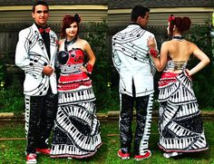 Duct Tape - Stuck at Prom | 2012 FIFTH RUNNER UP YVONNE & KEVIN