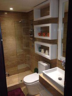 42 Super Creative DIY Bathroom Storage Projects to Organize Your Bathroom on a Budget - The Trending House Bathroom Design Luxury, Bathroom Layout, Modern Bathroom Design, Bathroom Ideas, Bathroom Organization, Small Bathroom Interior, Bathroom Small, Bathroom Mirrors, Bathroom Cleaning