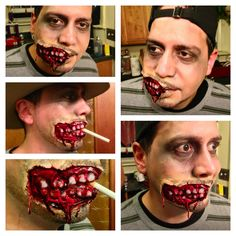 Extreme Halloween Makeup by Luna Designs Boutique...located at 402 Hillside Ave in Holyoke Ma 413 322-9338. Call today for your FREE consultation! I
