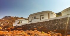 Iannis Xenakis /// Villa of Amorgos /// A house for Francois-Bernard Mache /// 1966-77 /// Amorgos island, GR