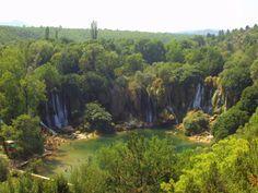 Ljubuski,Bosnia and Herzegovina, Kravica waterfalls.Been there :)