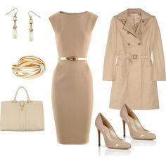 classic work dress