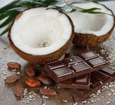 Chocolate Coquito is a favorite holiday tradition in Puerto Rico – much like an egg nog but without the egg and full of yummy coconut goodness. What pairs better with coconut than chocolate? Not much!