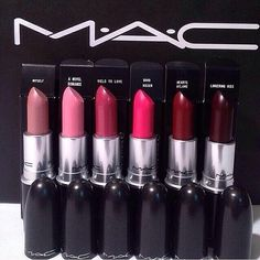 all of these #LipSticks from the #MacCosmetics #ANovelRomance collection.