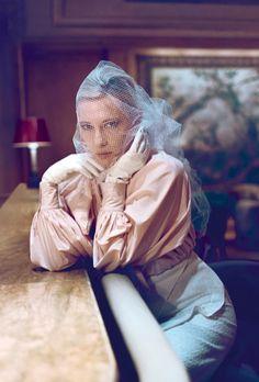 Cate Blanchett for Harper's Bazaar