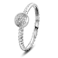 Ring i gull med diamant WP Gull, Bracelets, Rings, Silver, Jewelry, Jewels, Ring, Schmuck, Jewerly