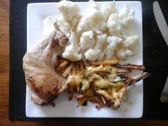 Frites van koolraap met bloemkool en kippenbout | | Goed en gezond eten