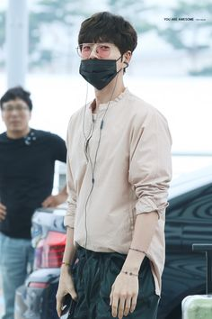 Park Hae Jin on his way to Japan for a Fanmeeting   20170702   : AWESOME830501   박해진 樸海鎮