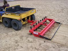 Arena Dragon Jr. : Arena Dragon Garden Tractor Attachments, Atv Attachments, Quad, Food Plots For Deer, Homemade Trailer, Cool Things To Build, Tractor Accessories, Small Tractors, Tractor Implements