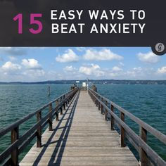 If you're looking to reduce daily anxiety, these 15 tips will get you on your way to being calm and collected in no time.