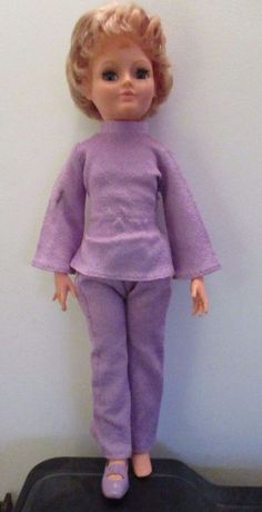 Vintage 1970s Palitoy Sheena Doll in original clothes