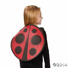 Ladybug Cape - Oriental Trading