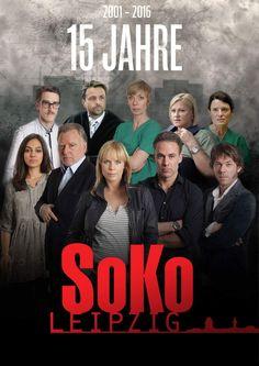 SOKO Leipzig (2001-2016) Detective, Soko Leipzig, Star Wars, My Love, Movies, Movie Posters, Movie, 15 Years, Films