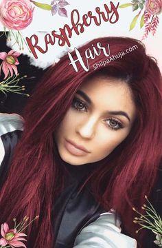 Vibrant Hair Colors, Hair Color Pink, Hair Dye Colors, Gorgeous Hair Color, Cool Hair Color, Raspberry Hair Dye, Wine Hair, Creative Hair Color, Light Blonde Hair