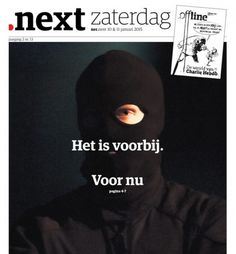 cover nrc.next 10 & 11 januari 2015