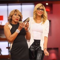 Tamar and Miss Evelyn