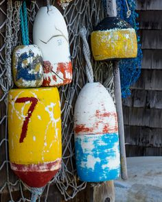new england photography lobster buoy beach by NicoleFPhotography