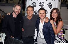 Pin for Later: The Cutest Cast Moments From Comic-Cons Past  Shawn Ashmore, Kevin Bacon, Sam Underwood and Jessica Stroup of The Following buddied up at a fan event in 2014.