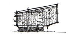 Facade Concept Sketch