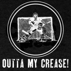 Outta my crease!