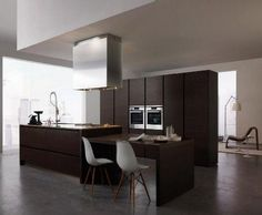 Elegantes muebles para cocinas - Elegant furniture for big kitchens