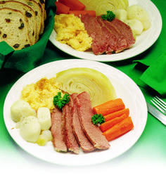 St. Patrick's Day just wouldn't be the same without New England Boiled Corned Beef Dinner.