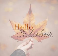 My Soul Searching Perspective Hello October, September, October Images, Welcome Quotes, Creative Diary, Stone Wallpaper, Morning Blessings, New Month, Hello Autumn