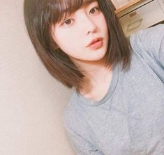 Uploaded by Mooo. Find images and videos about girl, ulzzang and hwamin on We Heart It - the app to get lost in what you love. Ulzzang Short Hair, Korean Short Hair, Crafts For Teen Girls Room, Korean Boy, Uzzlang Girl, Pretty Asian, Grunge Girl, Girl Short Hair, Tips Belleza