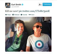 "curt smith: ""Kill me now! pic.twitter.com/UToHe7pz0E"""