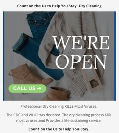 Professional Dry Cleaning KILLS Most Viruses   Joe's Organic Cleaners in Westbury