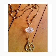 ❁ Colar Peace and Love  ☮ Vendas on-line @kurusgilabohemian