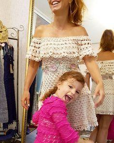 WEBSTA @ vanessamontoro - Girls just wanna have fun ?????????? #VanessaMontoroStyle #VanessaMontoroCrochet #Crochet #HandMade #Authentic #Timeless #MadeinBrazil #PositiveFashion #SlowFashion #FeitonoBrasil