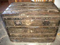 Baul De Viaje Louis Vuitton Principios De Siglo $13,819.94 USD Argentina Muebles Antiguos