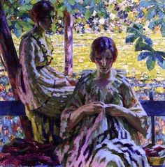 The Athenaeum - Summer Day (Louis Ritman - No dates listed)