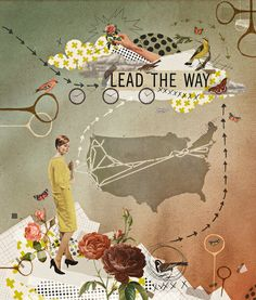 lead the way Art Print,   Janice travels the USA to bring us the best beads and findings! Thanks Janice for leading the way!