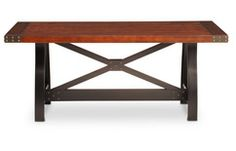 Oak Express: Foundry Dining Table : TA-DWFOT