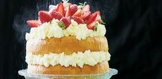Nadýchaný dort sjahodami