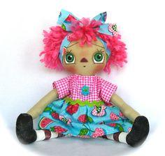 Primitive Raggedy Ann Doll via Etsy.
