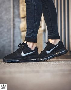 f0988f746ae Nike Air Max 2017  Black White-Anthracite Nike Air Max 360