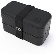 Amazon.com: monbento MB Square Bento Box, Black: Kitchen & Dining