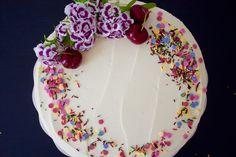 vegan cherry cake