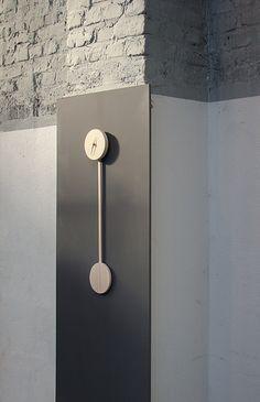 "Pendulum clock ""Zwilling"" by Co-Laborat"
