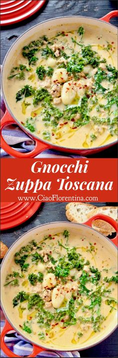 Gnocchi Zuppa Toscana Recipe | CiaoFlorentina.com @CiaoFlorentina