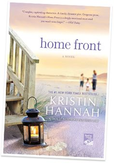 Home Front by Kristin Hannah  I LOVE Kristin Hannah and this book is no exception.. Expect a lot of tears.. She is an amazing Author!